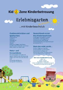 Erlebnisgarten mit deutschlands ersten Kita-Kinderbeachclub