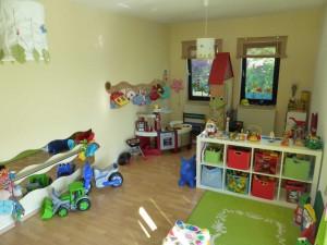 Kindgerechte Räumlichkeiten