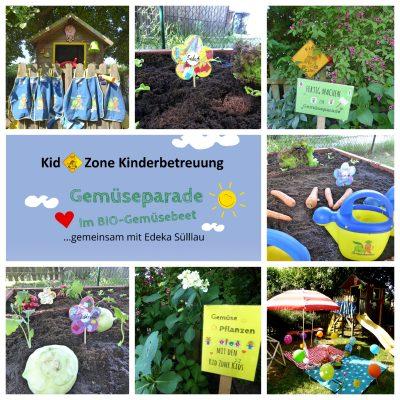 Kid Zone Aktion Gemüsebeet Bepflanzung 2018