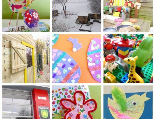 Schnee, Glitzer und Frühlingsspaß im März