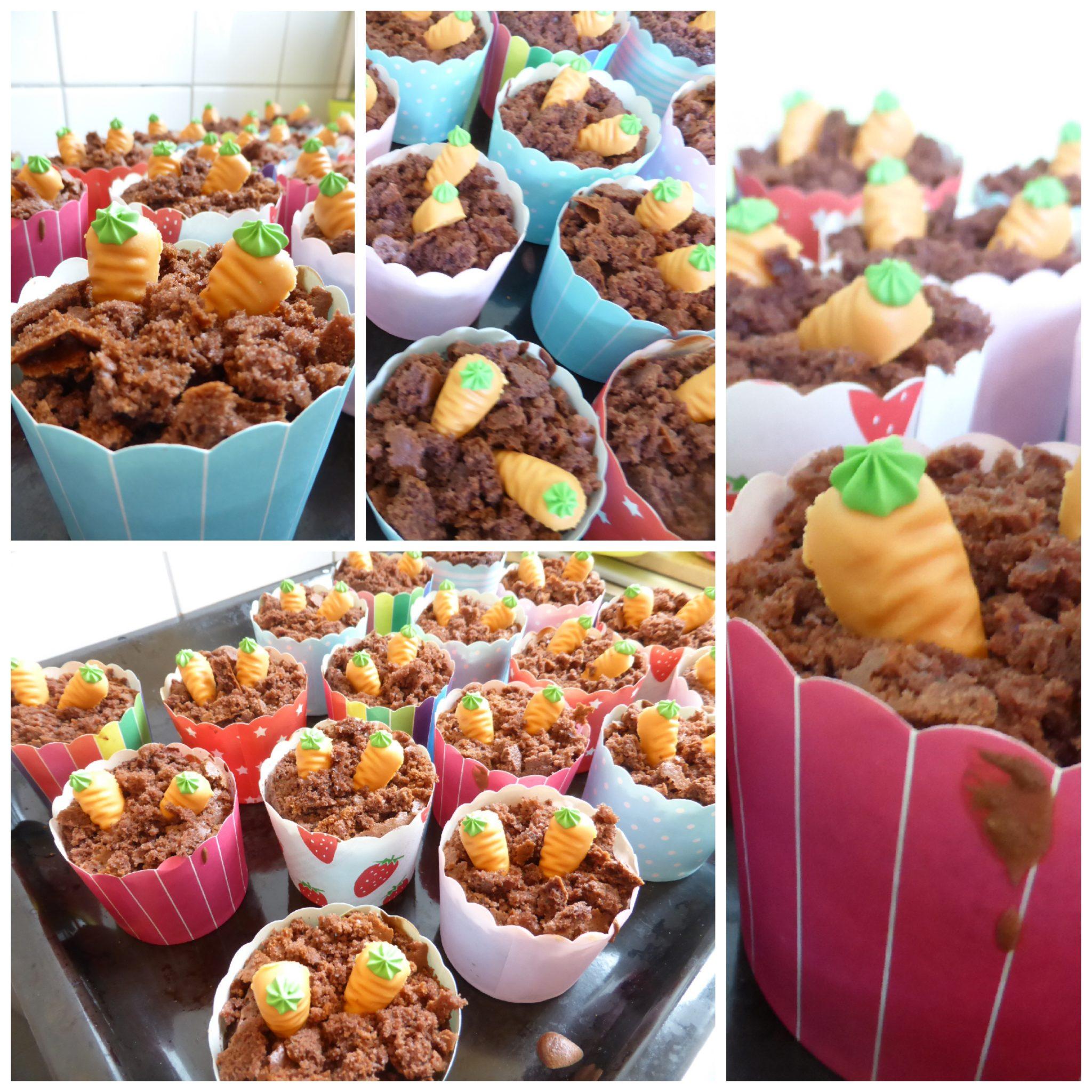 Karottenbeet-Muffins zu Ostern